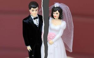 Las separaciones y divorcios crecen un 3% en Murcia durante el primer trimestre del año