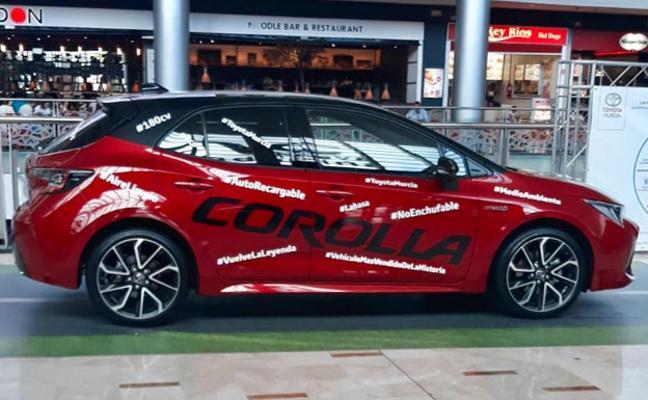 Toyota Murcia lleva el nuevo Corolla a Nueva Condomina