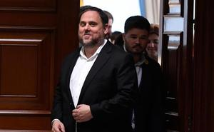 La Abogacía del Estado se distancia de la Fiscalía y apoya que Junqueras recoja el acta de europarlamentario