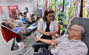 Más de cien personas ya han donado vida en La Glorieta