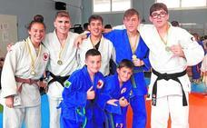 Fructífero fin de temporada de los judokas del Nebrija