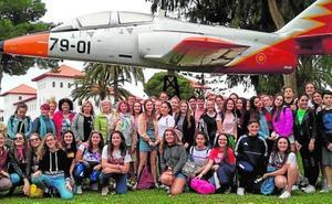 El colegio Las Claras recibe a los alumnos europeos que participan en Erasmus+