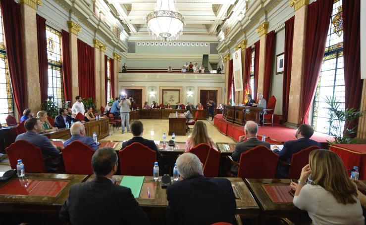 Último Pleno que celebra la Corporación municipal de Murcia