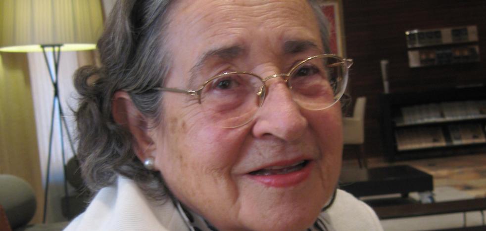 Ana Muñoz Amilibia, referente de los arqueólogos de la Región, muere en Madrid a los 87 años