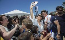Jordi Cruz levanta expectación en Cartagena Puerto de Sabores
