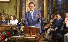 Constitución de la Corporación Municipal en Mazarrón