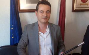 El único edil de Ciudadanos se estrena como alcalde de Albudeite para los próximos dos años
