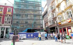 La construcción de un bloque de alojamientos turísticos amplía un sector al alza en el centro