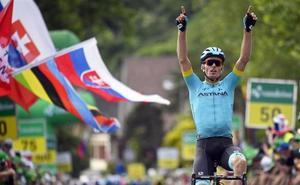 Luis León Sánchez gana la 2ª etapa de la Vuelta a Suiza