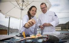 González-Conejero: «El Mar Menor potencia el sabor del mújol»