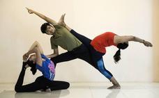 Disfrutando del yoga