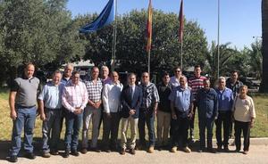 Una delegación cubana conoce los trabajos del Imida en ganado ovino y caprino