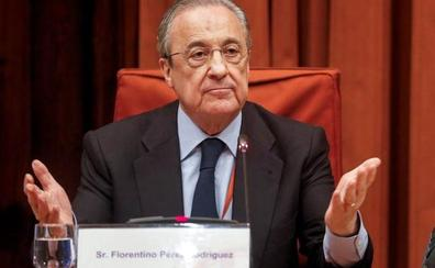 Florentino Pérez invita a la CUP al palco del Bernabéu