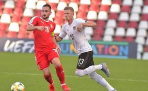 Austria amarga el gris debut de Serbia y de Luka Jovic