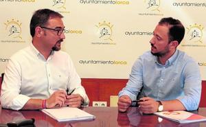 Mateos y Morales empiezan a trabajar en el diseño del nuevo gobierno de Lorca
