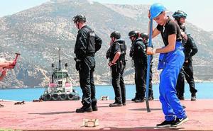 Aduanas apresa un barco moldavo con 10 toneladas de 'chocolate'