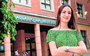 La mejor nota de Selectividad en Murcia: «Tengo claro que siempre fui de letras»