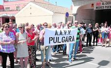 Protesta por el cierre del consultorio de Puente La Pía