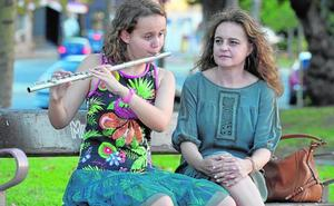 Jimena Montoya, la flautista feliz
