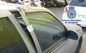 Dos detenidos en Cartagena por seis presuntos robos con fuerza en el interior de vehículos