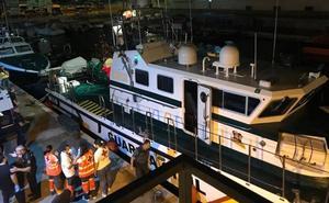 Localizan una patera con nueve inmigrantes a bordo en aguas de Cartagena