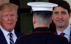 Trump intenta atemperar los ánimos belicistas contra Irán