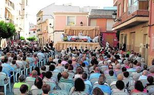 La procesión del Corpus llena las calles de Archena