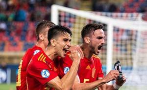 España golea de forma olímpica