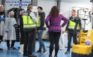 Tres detenidos por explotación laboral en una empresa de San Pedro del Pinatar