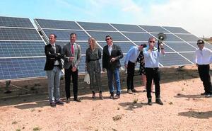 El pequeño parque solar de Herrada del Manco, en Yecla, puede atender ya a 1.155 hogares
