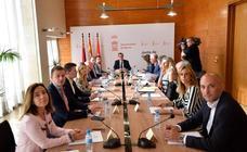 Reunión constitutiva de la Junta de Gobierno de Murcia