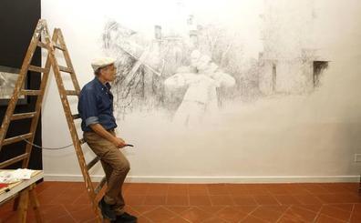 Casi 9.000 personas han visitado ya la exposición de Pedro Cano en Verónicas
