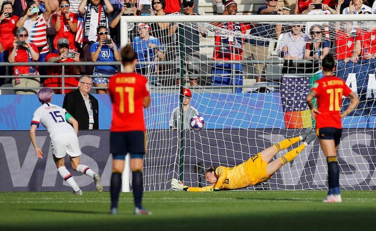 Las mejores imágenes del España-Estados Unidos