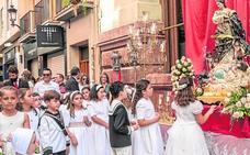 Procesión del Corpus por el casco histórico