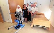 Donación al asilo de ancianos