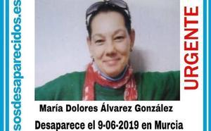 Desaparecida una mujer de 56 años en Murcia