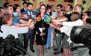 Cs controlará la portavocía y casi la mitad del nuevo Gobierno del popular López Miras