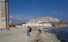 El nuevo mirador de Galúa en La Manga ya tiene definidos los paseos y las futuras terrazas