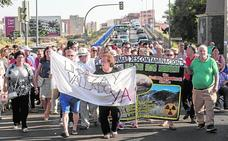 Protesta por los terrenos de Zinsa en Torreciega