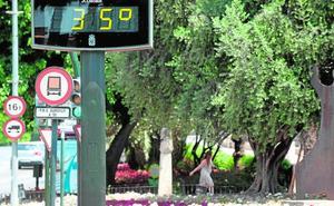 Una masa de aire cálido traerá máximas de más de 40 grados