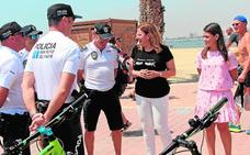 La Policía de Playas incrementará la vigilancia en paseos marítimos y costa de San Pedro