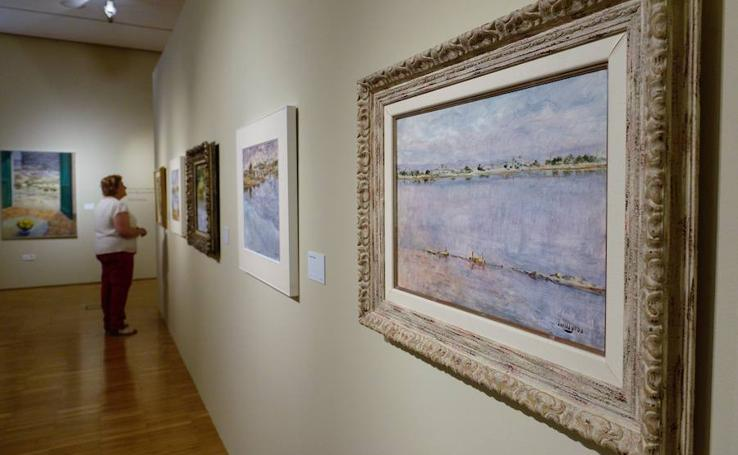 El Mubam acoge una muestra de Manuel Avellaneda, el cronista del paisaje murciano