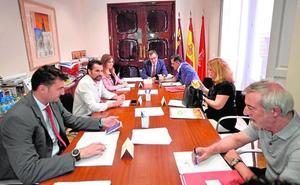 El Pleno de Murcia aprobará el lunes las 20 dedicaciones exclusivas de los ediles
