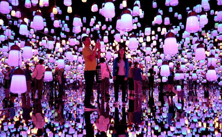10.000 metros cuadrados de arte digital