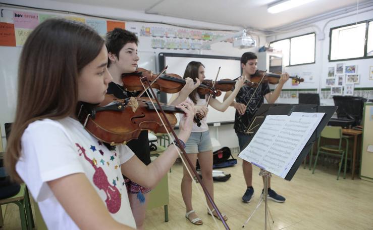 La nueva Orquesta de Aspirantes de la Región celebra en Lorca su primer encuentro