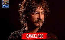 Cancelado el concierto de Quique González en Murcia por problemas de salud