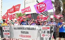 Los trabajadores de la hostelería comienzan las protestas en Bahía