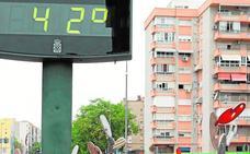 Mucho calor en toda la Región de Murcia, y más que está por llegar
