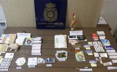 Desmantelan un punto de venta de droga al menudeo en Yecla
