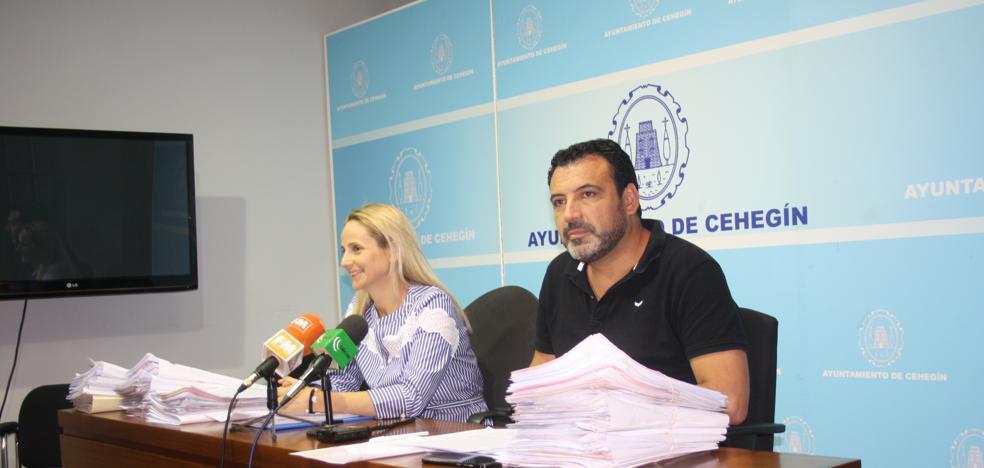 El Ayuntamiento de Cehegín se enfrenta a 2,5 millones de euros de deuda tras el anterior gobierno socialista